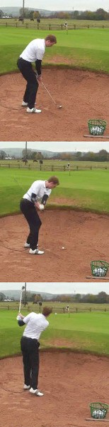 How Should I Play My Golf Bunker Shots If I Have No Follow Through