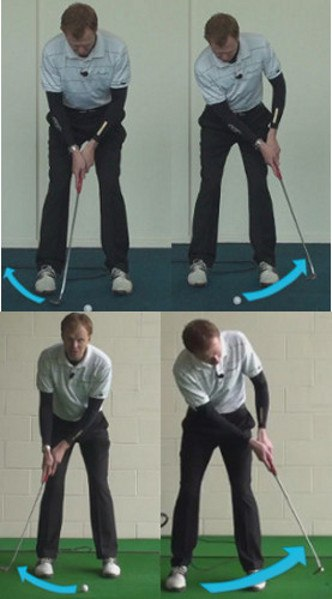 How Should My Backswing Move Away From The Golf Ball For More Accurate Golf Putts