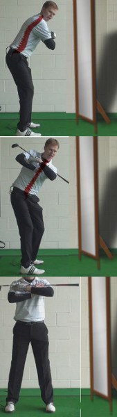 Staying in Your Stance on the Backswing