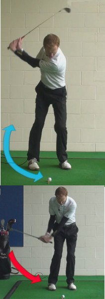 What Is The Perfect Golf Down Swing For Clean Crisp Golf Wedge Shots