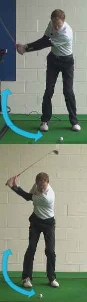 What Is The Perfect Golf Takeaway And Back Swing For Clean Crisp Golf Wedge Shots
