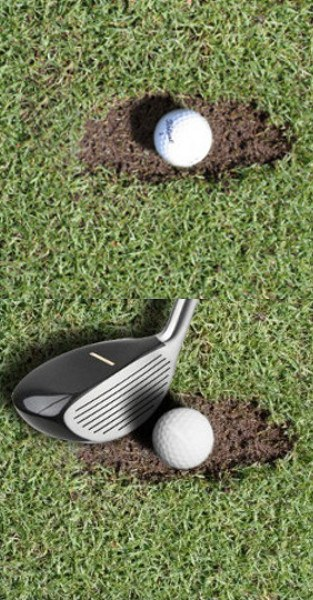 Why Are Hybrid Golf Clubs A Good Choice When My Ball Is In A Divot