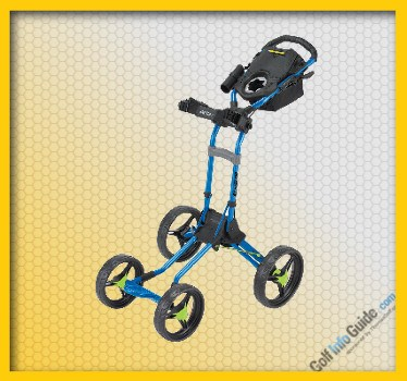 BagBoy Quad Plus Push Cart Review