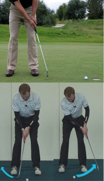 Psychological factors in curing the putting yips