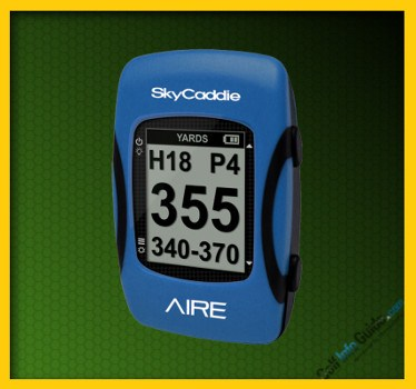 SkyCaddie AIRE Golf GPS Rangefinder Review