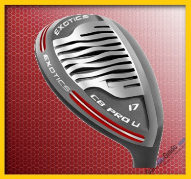 Tour Edge Exotics CB PRO U Hybrid Golf Club Review