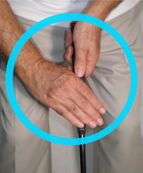 TAKING A LITTLE OFF- HOW THE CLAW GRIP CAN HELP YOUR PUTTING