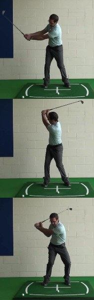 Where the Wrists Hinge to Create Lag on the Downswing