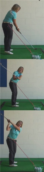 Using Your Upright Swing on the Course