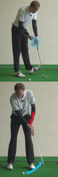 Firm Left Wrist Key to Solid Putting Stroke