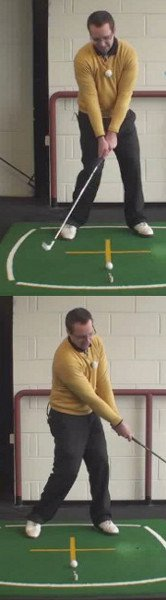 Find Bottom of Your Golf Swing for Pure Contact