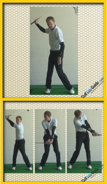 Ernie Els Pro Golfer Swing Sequence