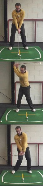 Correct Right Arm Swing Sequence Start to Finish