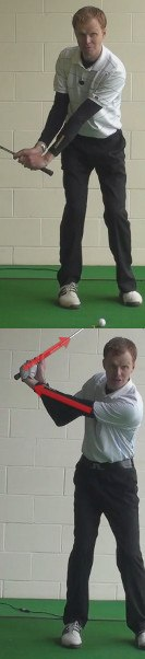 More Power Golf Drills – Hinge Wrists in an L Shape