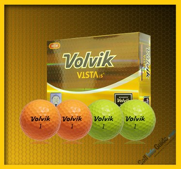 Volvik Vista iS  2016 Golf Ball Review