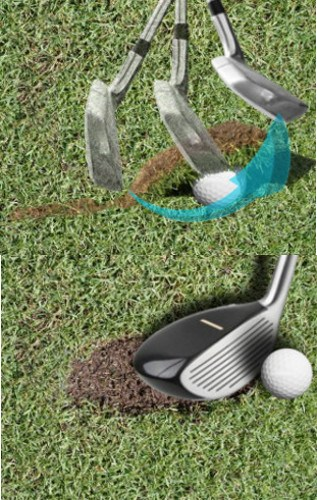 Fat Shot Golf Drill – Object Ahead of Ball
