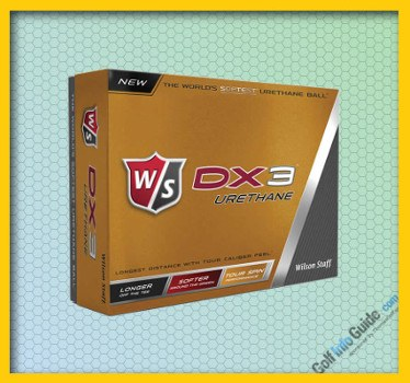 WILSON STAFF DX3 URETHANE GOLF BALL Review