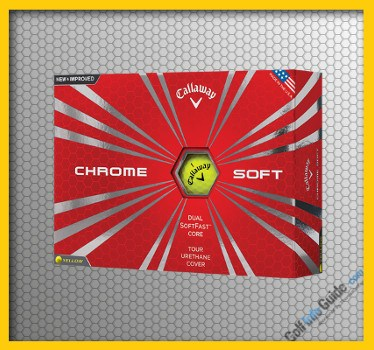 Callaway New Chrome Soft Yellow Golf Ball Review