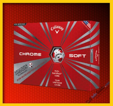 Callaway New Chrome Soft with Truvis Technology Golf Ball Review