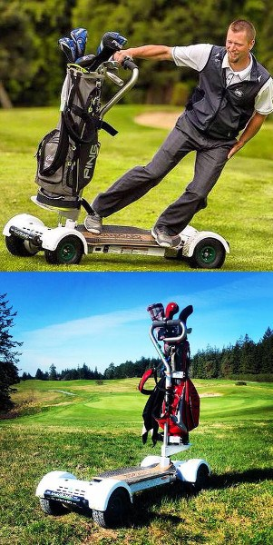 Surf the Earth-GolfBoard Style
