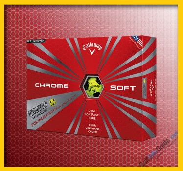 Callaway New Chrome Soft Truvis Yellow and Black Top Rated Golf Ball Review