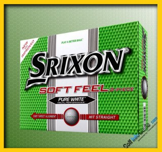 Srixon Soft Feel PURE WHITE Top Rated GOLF BALL Review