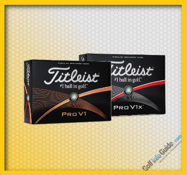 Titleist Pro V1 and Pro V1X Top Rated GOLF BALL Review