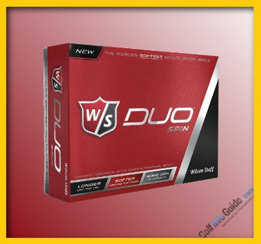 Wilson Staff DUO Spin Top Rated GOLF BALL Review
