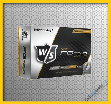 Wilson Staff FG Tour Top Rated GOLF BALL Review