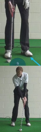 Golf Fix - Open Lead Foot and Hip for Better Wedge Play