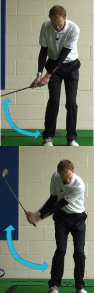Thin Shot Golf Drill – Chip with Straight Arms?