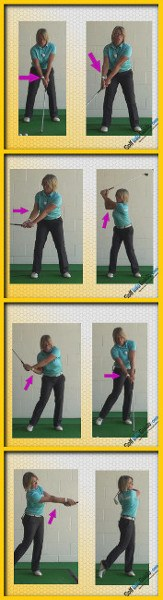 Top 3 Tips on Right Arm Swing Sequence