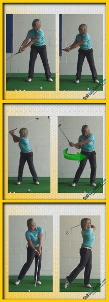 Correct Shoulder Turn Start to Finish
