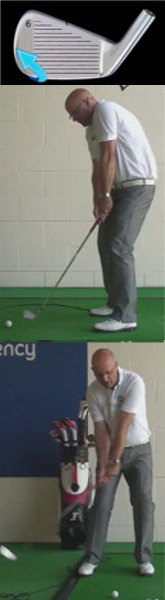 Hitting the Ball from the Toe – Swing Problem