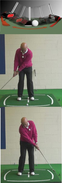 Arc Putting Stroke May Be Your Natural Motion