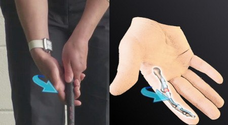 Golf Grip – What is the Trigger Finger?