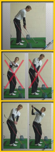 Swing Plane Golf Drills