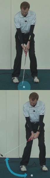 Putting – Align Eyes Over the Ball and Target Line