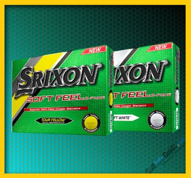 Srixon SOFT FEEL SOFT WHITE and TOUR YELLOW Golf Ball Review