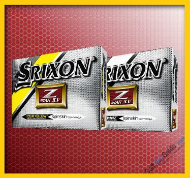 Srixon Z-STAR XV PURE WHITE and TOUR YELLOW Golf Ball Review