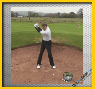Fairway Wood From A Fairway Bunker Video