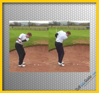 Golf Bunker Shot Shanks Video