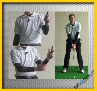 Need Right Grip Pressure for More Distance – Golf Video