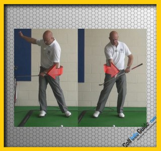 Stop your Backswing Sway for More Power, Video