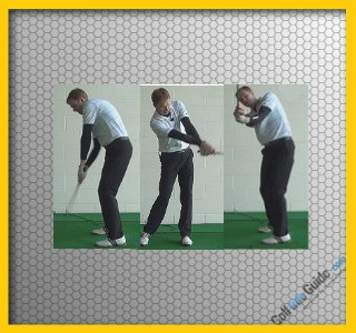 Slice Shot Drill 9, Front Hand Glove Badge Away and Upside Down, Video