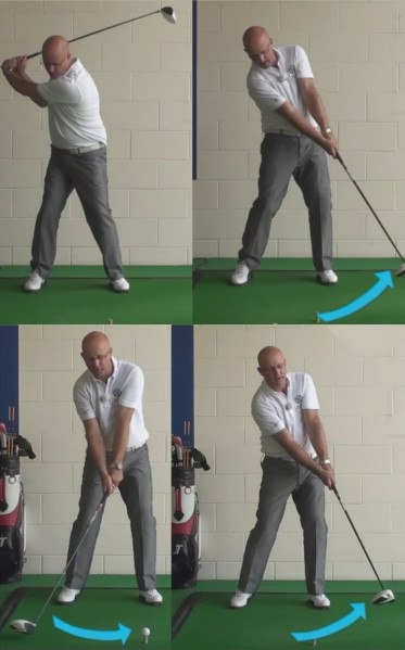 Annika Sorenstam Early Head Movement