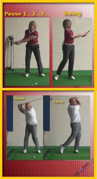 Consider Benefits of Pause at Top of Backswing