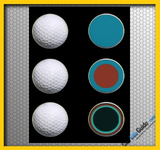 Golf Ball Layers Chart