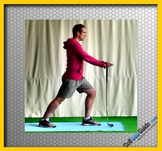 Golf Calf Stretch Video