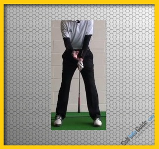 Golf Stretch Upside down to aid speed Video